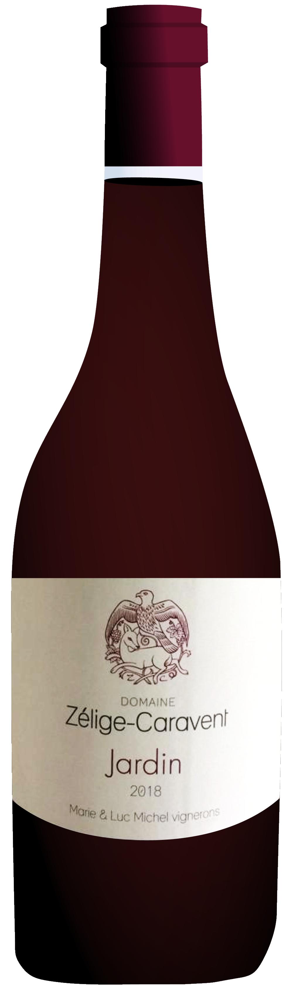 the natural wine company club october 2020 france zelige caravent jardin