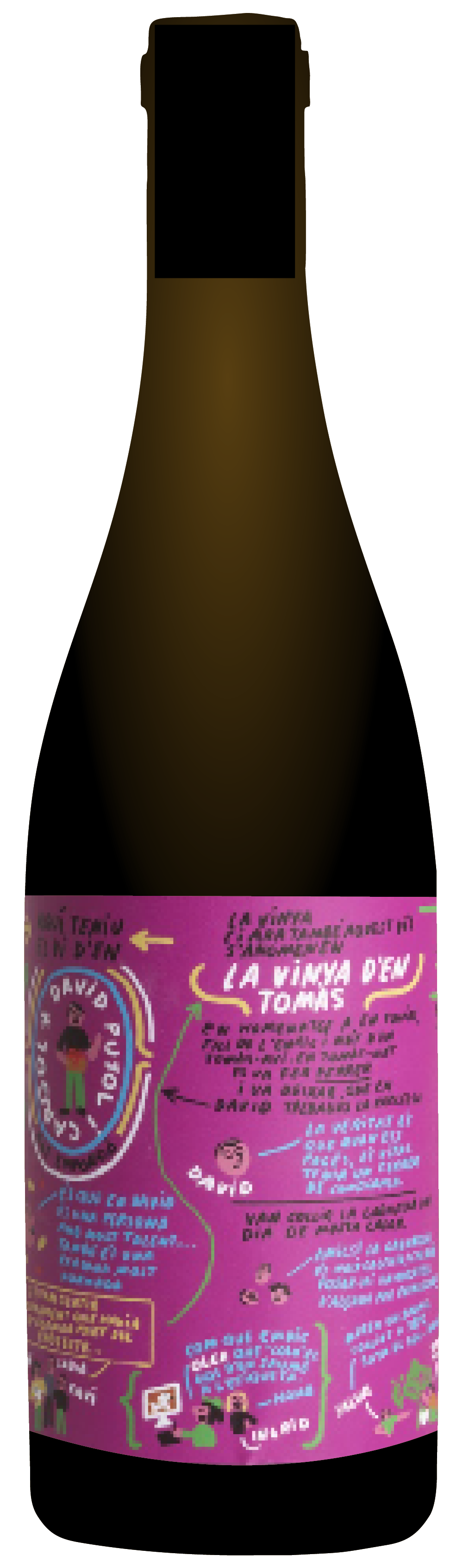 the natural wine company club january 2021 spain amor per la terra la vinya den tomas