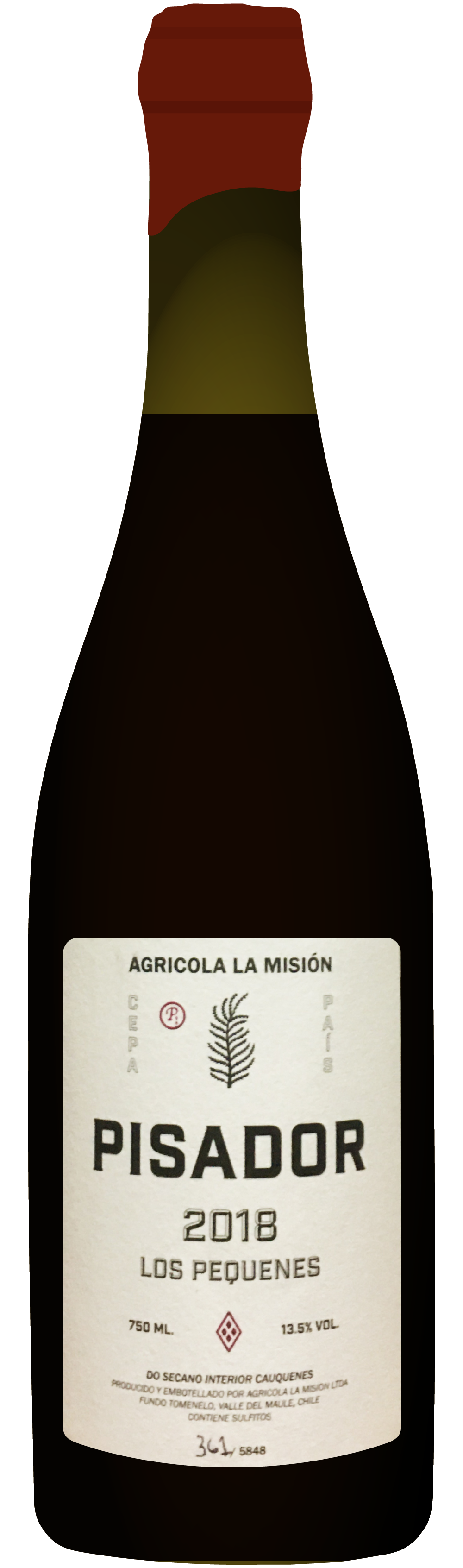 the natural wine company club march 2021 chile agricola la mision pisador