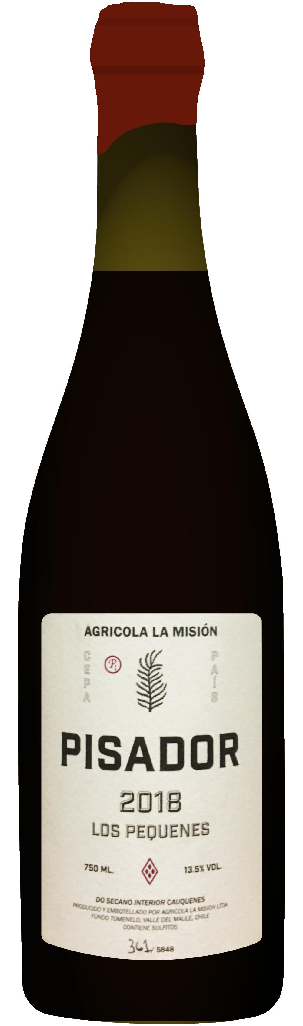 the natural wine company club march 2021 chile agricola la mision pisador